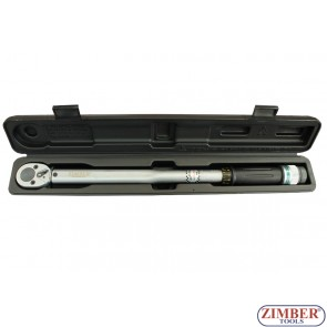 "Torque Wrench 1/2"" - 28-210Nm,  ZR-17TW12210 - ZIMBER - TOOLS"