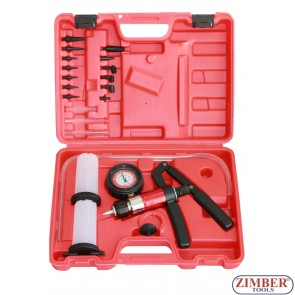 Vacuum Gun Set with suction and pressure function 21PCS, ZT-04100 - SMANN TOOLS
