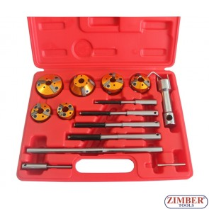 Valve Refacing & Setting Tools 14pcs,ZR-36VRST- ZIMBER - TOOLS.