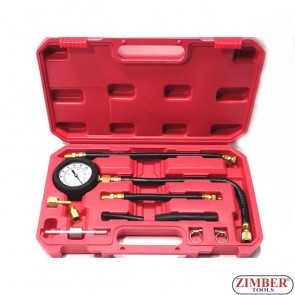 Fuel Injection Pump Pressure Gauge Tester Gasoline Test Tools
