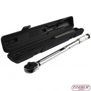 "Micrometer Torque Wrench 28~210NM 1/2"" (ZR-17MTW12) - ZIMBER-TOOLS"