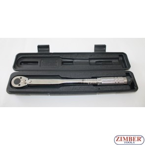 "Micrometer Torque Wrench 7~112NM, 3/8"" (ZR-17TW3808) - ZIMBER-TOOLS"