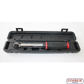 "1/4"" Micrometer Torque Wrench 6~30NM (ZR-17WSTW14) - ZIMBER-TOOLS"