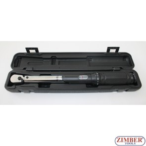 "3/8"" Micrometer Torque Wrench 21~119NM (ZR-17WSTW38) - ZIMBER-TOOLS"