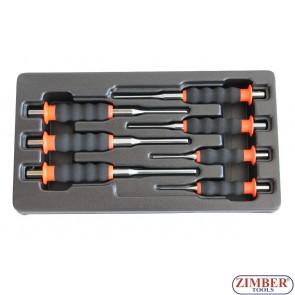 7pcs PIN PUNCH SET - ZR-18PPS07MT - ZIMBER TOOLS