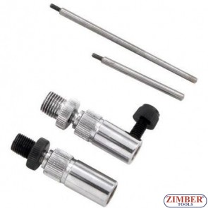 Bosch VE Fuel injection pump adapter and timing clock set, ZR-36DPT01 - ZIMBER TOOLS.