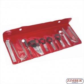 Car Radio Removal Tool Key Set 20pcs, ZR-36RRTS20 - ZIMBER TOOLS.