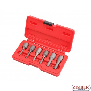 """3/8""""DR BOLT  EXTAKTOR (6 pcs) - 2mm,3mm,4mm,6mm,8mm,10mm. -  ZIMBER-TOOLS."""