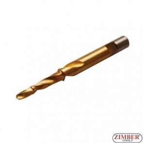 9*5.5mm Step Drill for broken glow plug - ZIMBER-TOOLS
