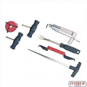 Professional Windshield Removal Tool Kit 7pc,  ZT-04045 - SMANN TOOLS