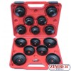 15PCS CUP TYPE OIL FILTER WRENCH SET - SMANN TOOLS.
