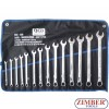 14-piece Combination Spanner Set, extra long, 6-19 mm