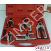 5pc Ball Joint and Tie Rod Service Tool Kit - ZIMBER TOOLS