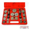 BRAKE CALIPER WIND BACK KIT 18PCS - ZR-36DBPCSTK18 -ZIMBER TOOLS.
