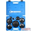 9-piece End Cap Oil Filter Wrench Set