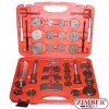 Brake Piston Wind-Back Set 35pcs. ZT-04047 - SMANN TOOLS