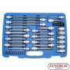 "38-piece Car Assembly Bit Socket Set, 1/4"" + 1/2"" - BGS"