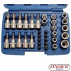 "34-piece T STAR Bit / Socket Set, 3/8"" - BGS"