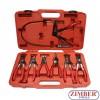 7Pcs Universal Hose  Clamp Pliers Kit, ZR-36UHCPK07 - ZIMBER - TOOLS