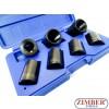 """7pc 1/2"""" Drive Locking Wheel Nut Twist Sockets - ZT-01Z5188 - SMANN TOOLS"""