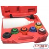 Oil Funnel Filling Kit With 6 Adapters Automotive Tool for Car Truck, 8pcs  - ZT-04A5088 - SMANN TOOLS.