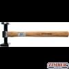 Body Hammer round, flat Head / square, flat Head 780-g. (1672-2) - BGS technic