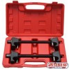Coil Spring Compressor For MacPherson Struts Shock Absorber Car Garage Tool 300-mm. 2pc  - ZR-36SCC -  ZIMBER TOOLS