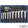 Combination Spanner Set | extra short | 10 - 19 mm | 10 pcs -1188- BGS. technic. Germany.