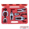 6pc-Front-End-Service-Tool-Kit-Ball-Joint-Separator-Pitman-Arm-Tie-Rod-Puller , ZR-36FES02 - ZIMBER TOOLS