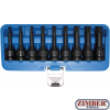 9-piece Impact Bit Socket Set, T-Star, T20-T70, 1/2""