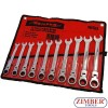 Flex Head Ratcheting Wrench Set 10 Pc,3229 - NEILSEN.