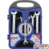 Ratcheting Combination Wrench Set | 8-19 mm | 7 pcs. 1596 - BGS technic.