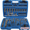 "Socket Set 12-point | 6.3 mm (1/4"") / 10 mm (3/8"") / 12.5 mm (1/2"") | 192 pcs. - 2286 -BGS-technic."