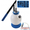 Transmission Oil Filling Tool with Hand Pump   with 8 Adaptors   7 L -9992-BGS technic.