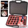 Universal Radiator Pressure Tester Kit (NYLON 66-Print Color) 24pcs  , ZR-36URTK24 - ZIMBER TOOLS