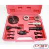 12PC A/C Compressor Clutch Remover Kit (ZT-04040) - SMANN TOOLS.