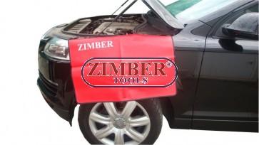 Μποδιά για την προστασία του φτερού αυτοκινήτου, ZR-36FCM- ZIMBER TOOLS.