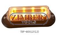 Amber led dash light LED- 12V