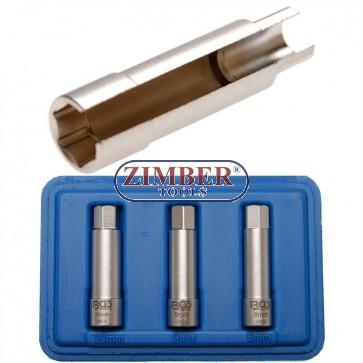 Καρυδάκια για μπουζί πολύγωνα 8, 9,10-mm Fiat, Alfa, Lancia 3 τεμαχίων  - 7191 - BGS technic.