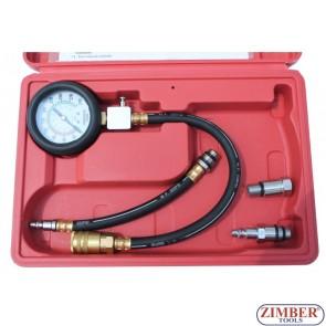 Συμπιεσόμετρο για κινητήρες βενζίνης , ZT-04153 - ZIMBER-TOOLS.