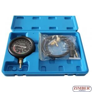 Κενού και πίεσης καυσίμου Αντλία δοκιμών Μετρητής Set, ZK-341.