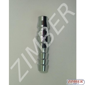 "Air line quick coupler 3/8"" ZDC 2 Steel Japanese type - ZIMBER"