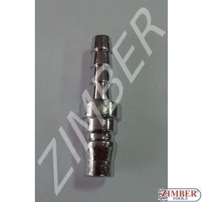 "Air line quick coupler 5/16"" ZDC 2 Steel Japanese type - ZIMBER"