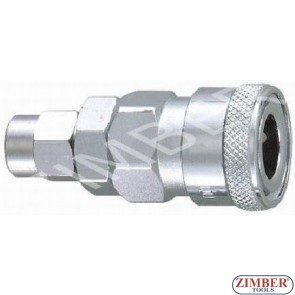 Air line quick coupler 5x8mm ZDC 2 Steel Japanese type - ZIMBER