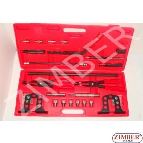 Universal valve spring compressor set