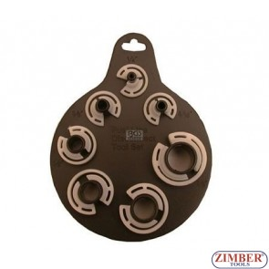 7-piece Pipe Connector Loosening Clip Set