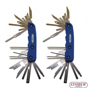 2-piece Radio Removal Tool Set - BGS