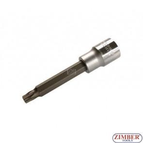Spezial-T-Profil-Einsatz, 12,5 (1/2), o. B., 100 mm lang, T45 -  BGS