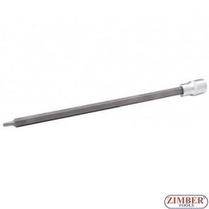 """1/2"""" Bit Socket T-STAR, tamperproof, T30x300 mm - BGS"""