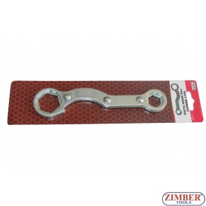Four size bolt wrench 32mm, 27mm, 21mm, 17mm -ZR-36BW- ZIMBER TOOLS